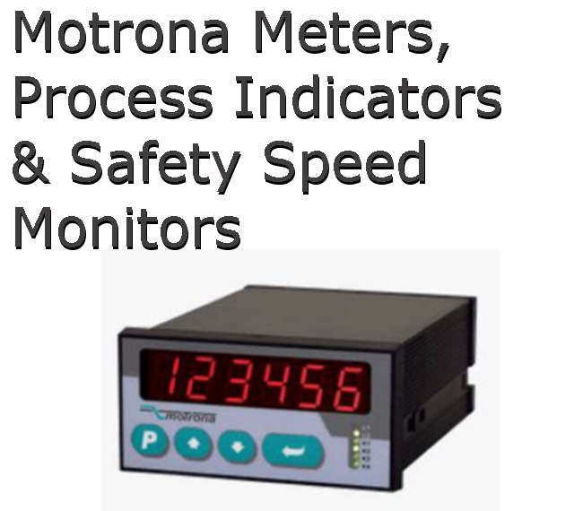 Motrona Meters & Process Indicators